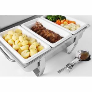 Bac Gastronorme en Porcelaine - GN 1/3 HENDI - 2