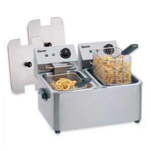 Friteuse pro 2 cuves de 4 litres SNACK II