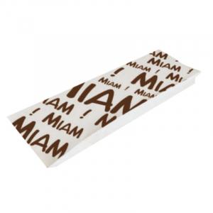 "Sac Sandwich ""Miam"" en Papier Kraft - Lot de 1000 FourniResto - 1"