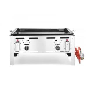 Barbecue à Gaz Professionnel à Poser Bake-Master Maxi HENDI - 1