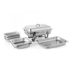 Set Chafing Dish Kitchen Line HENDI - 1