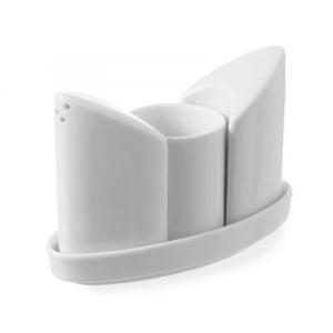 Ménagère porcelaine 3 pièces HENDI - 1