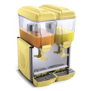 Distributeur jus de fruit 2X12L HENDI - 1