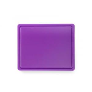 Planche à Découper HACCP - GN 1/2 - Violet - 12 mm d'Epaisseur HENDI - 1