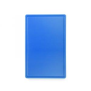 Planche à Découper HACCP - GN 1/1 - Bleu - 15 mm d'Epaisseur HENDI - 1
