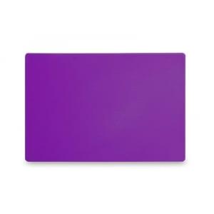 Planche à Découper HACCP - 450x300 - Violet - 13 mm d'Epaisseur HENDI - 1