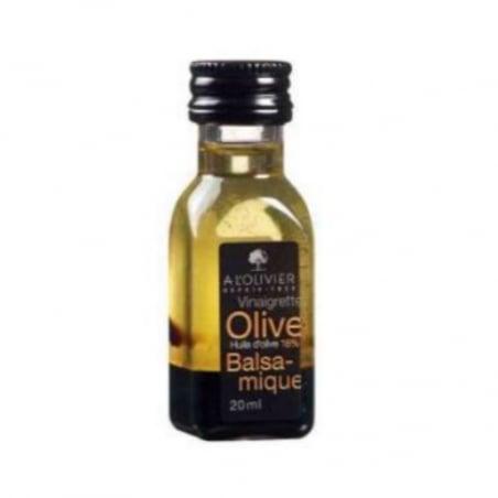 Vinaigrette à l'Huile d'Olive et au Vinaigre Balsamique - 20 ml - Lot de 50 FourniResto - 1
