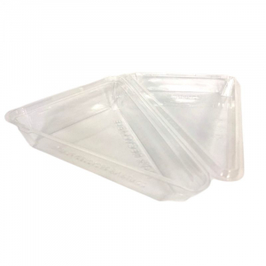 Boîte pour Part Triangulaire avec Couvercle - Lot de 90 FourniResto - 4