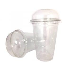 Couvercle Dôme pour Gobelet Cristal Shaker - Lot de 50 FourniResto - 3