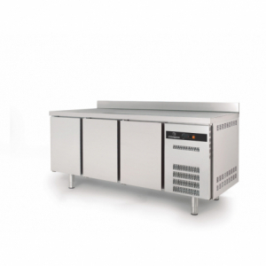 Table Réfrigérée Positive S-Line - 380 L - 3 Portes - P 600 CORECO - 1