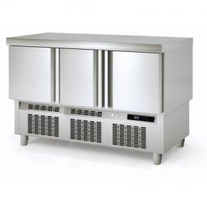 Table Réfrigérée Positive Compact - 255 L - 3 Portes - P 700 CORECO - 1