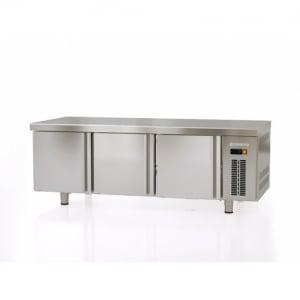 Table Réfrigérée Positive de Soubassement - 264 L - 3 Portes - GN 1/1 CORECO - 1