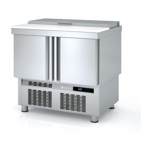 Saladette Réfrigérée Positive - 2 Portes - 169 L - 15 Bacs GN 1/6 CORECO - 1