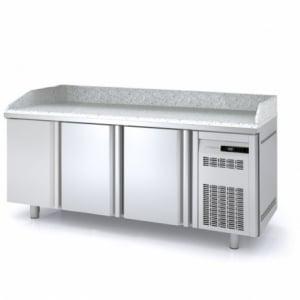 Meuble à Pizza Réfrigéré Positif - 3 portes - 399 L CORECO - 1