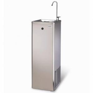 Fontaine à Eau en Réseau à Pédale Inox - Eau Froide - Banc de Glace - 30 L/H COSMETAL - 1