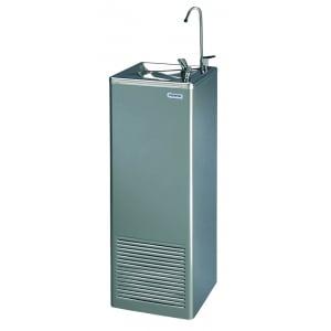 Fontaine à Eau en Réseau Inox - Eau Froide - Banc de Glace - 30 L/H - 2 Sorties d'Eau COSMETAL - 1