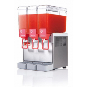 Distributeur de Boissons Réfrigérées Compact - 3 x 8 litres Ugolini - 1