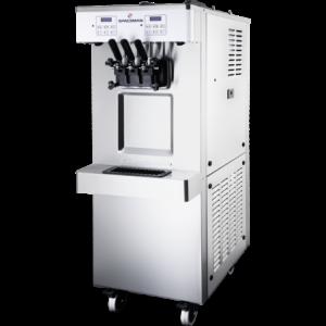 Machine à Glace Soft et Frozen Yogurt Verticale sur Roulettes - 45 L/H SPACEMAN - 1
