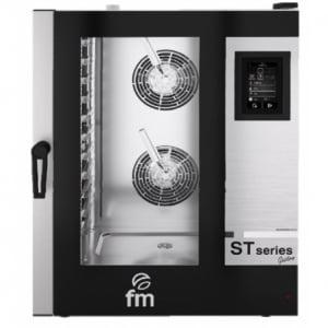 Four Mixte Professionnel à Injection de Vapeur - 11 GN 1/1 - Commande Mécanique FM - 1