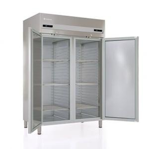 Armoire Réfrigérée Positive - 1404 L - 2 Portes Pleines - GN 2/1 - Côtés Emboutis CORECO - 1