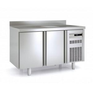 Table Réfrigérée Positive avec Evier - 255 L - 2 Portes - P 700 CORECO - 1