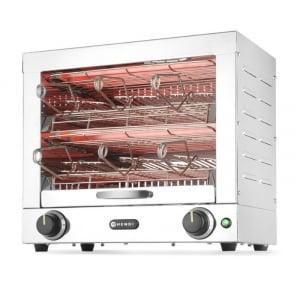 Toaster à 2 Niveaux - 6 Pinces HENDI - 1