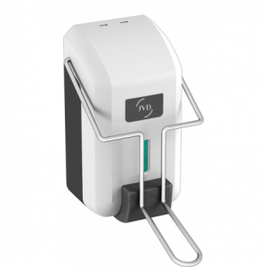 Distributeur de Savon Palette Blanc Cleanline - 700ml JVD - 1