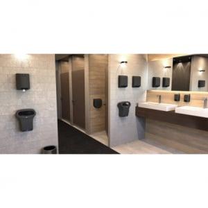 Distributeur d'Essuie-Mains Noir Cleanline JVD - 4