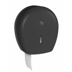 Distributeur pour Papier Toilette Jumbo Noir 400 Yaliss JVD - 1