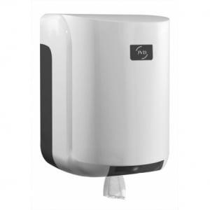 Distributeur pour Bobine à Dévidage Central Blanc Cleanline JVD - 2