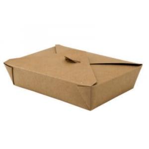Boîte Repas Petit Format - Couvercle 4 Rabats - Ecoresponsable - Lot de 50 FourniResto - 1