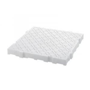 Caillebotis 50 x 50 cm - Clipsable - Blanc FourniResto - 1
