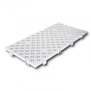 Caillebotis 100 x 50 cm - Clipsable - Blanc FourniResto - 1