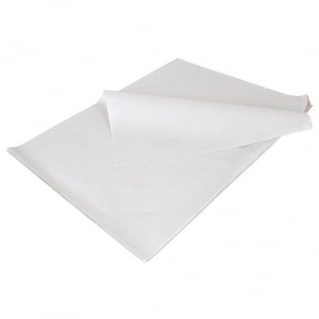 Papier Ingraissable en Kraft Blanc - 50 x 65 - 10 Kg FourniResto - 1