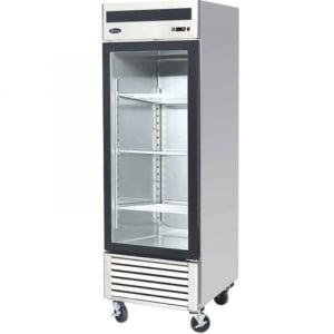 Armoire Réfrigérée Vitrée Positive - 610 L FourniResto - 1