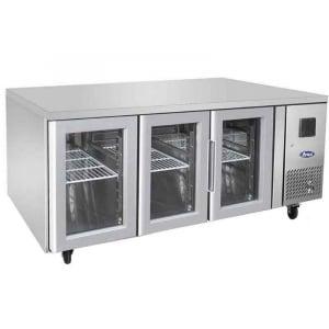 Table Réfrigérée Positive Vitrée - GN 1/1 - 420 L FourniResto - 1