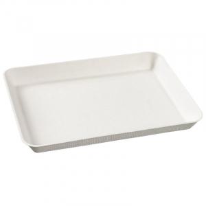 Assiette Kanopée Blanche - 200 x 150 mm - Lot de 50 FourniResto - 2