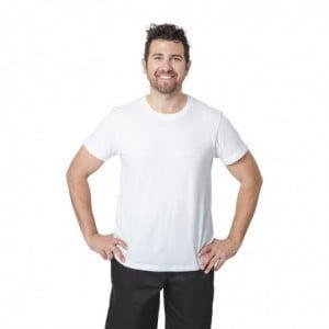 Tshirt Mixte Blanc - Taille M FourniResto - 1