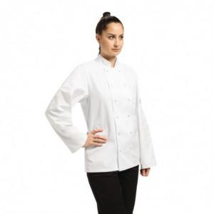 Veste De Cuisine Mixte Blanche À Manches Longues Vegas - Taille Xs Whites Chefs Clothing - 1
