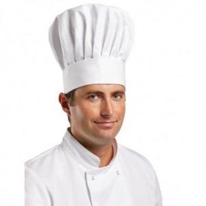 Toque De Chef Tallboy - Taille M 58 Cm Whites Chefs Clothing - 1