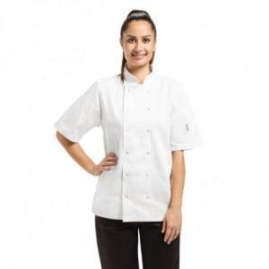 Veste De Cuisine Mixte Blanche À Manches Courtes Vegas - Taille M Whites Chefs Clothing - 1