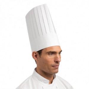 Toque De Chef Blanche Jetable - Taille Unique - Lot De 100 FourniResto - 1