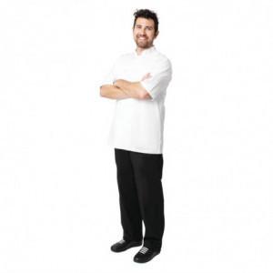 Veste de Cuisine Mixte Blanche Volnay - Taille L Chef Works - 1
