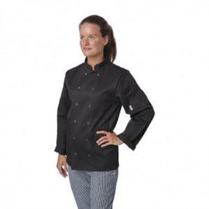 Veste De Cuisine Mixte Noire À Manches Longues Vegas - Taille M Whites Chefs Clothing - 1
