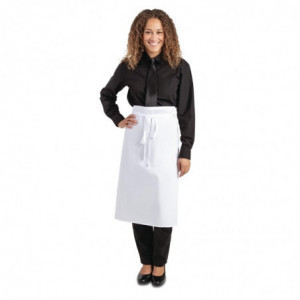 Tablier Standard Blanc 914 X 762 Mm Whites Chefs Clothing - 1
