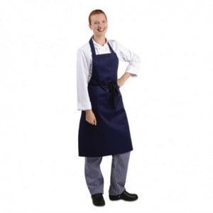 Tabier Bavette Bleu Marine 710 X 970 Mm Whites Chefs Clothing - 1