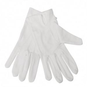 Gants De Service Blancs Pour Femme - Taille L/Xl FourniResto - 1