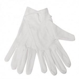 Gants De Service Blancs Pour Homme - Taille S/M FourniResto - 1