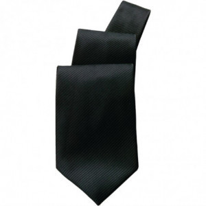 Cravate Noire En Polycoton Chef Works - 1