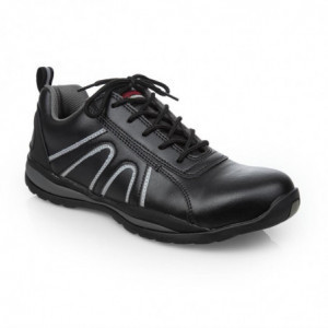 Baskets De Sécurité Noire - Taille 38 Slipbuster Footwear - 1